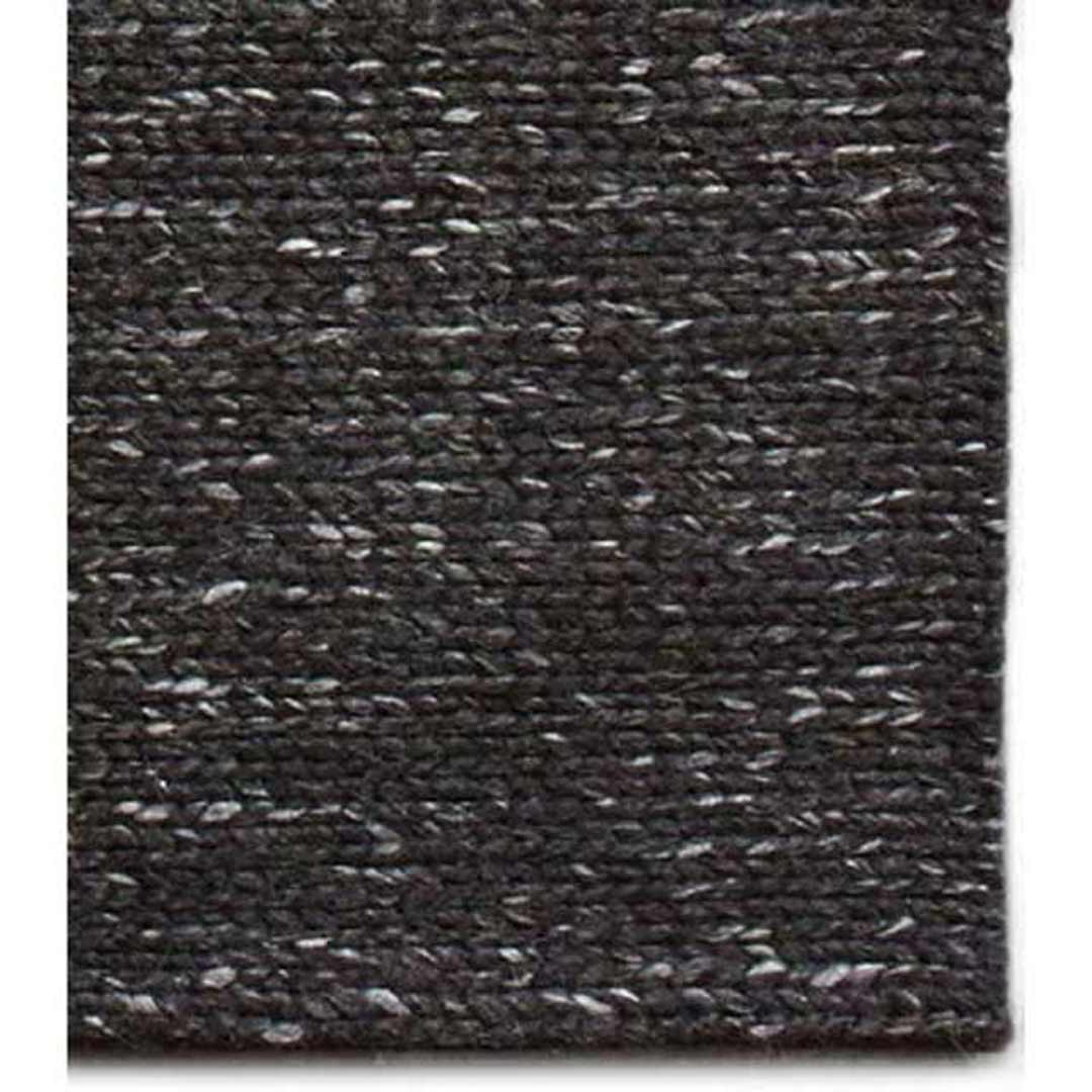 The RUG Collection Wool Rugs 160cm x 230cm Floor Area Carpet Como Charcoal