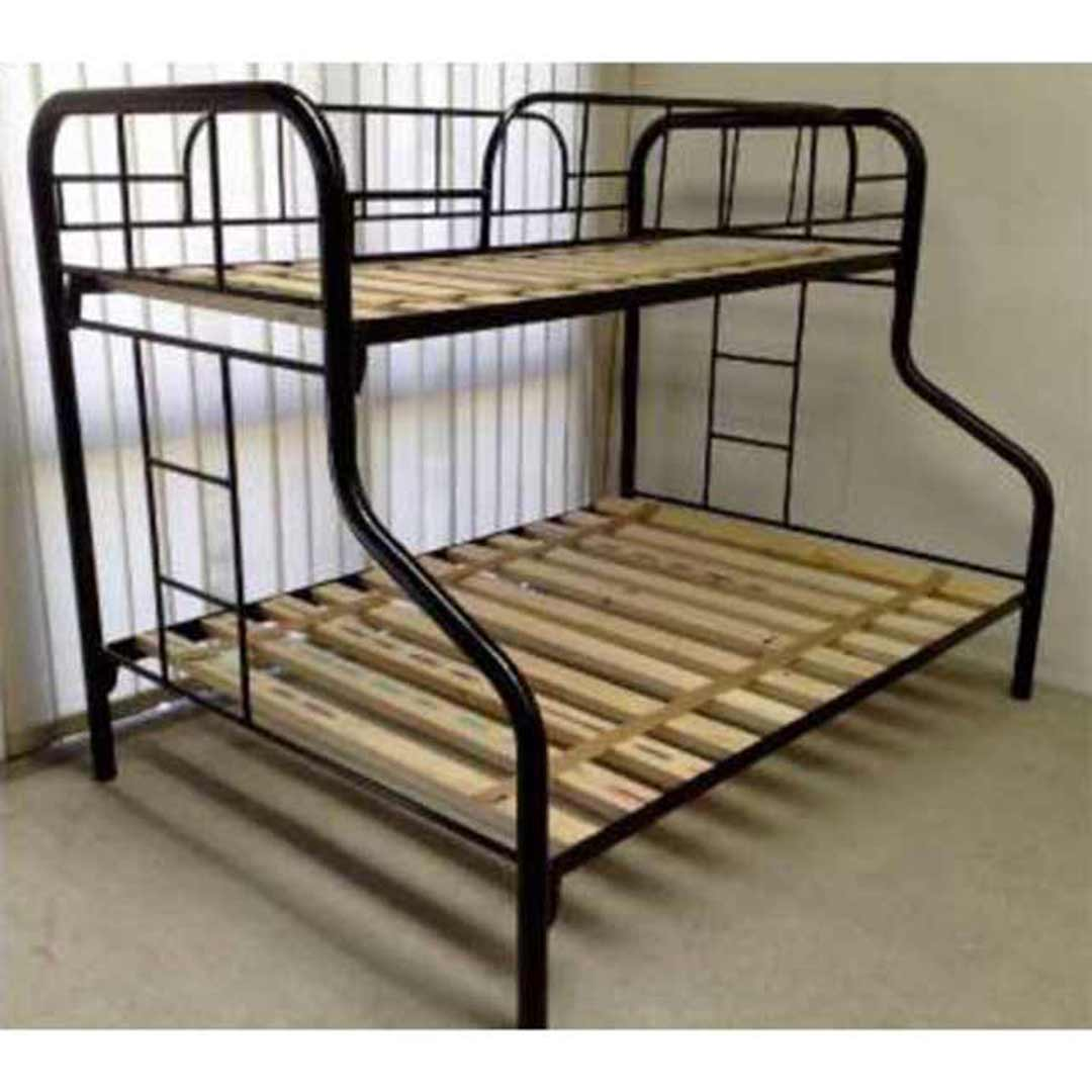 Hypersonic Gemini Metal Single over Double Domestic Bunk Bed