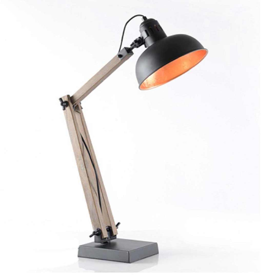 Industrial Metal Gourd Desk Lamp 75088