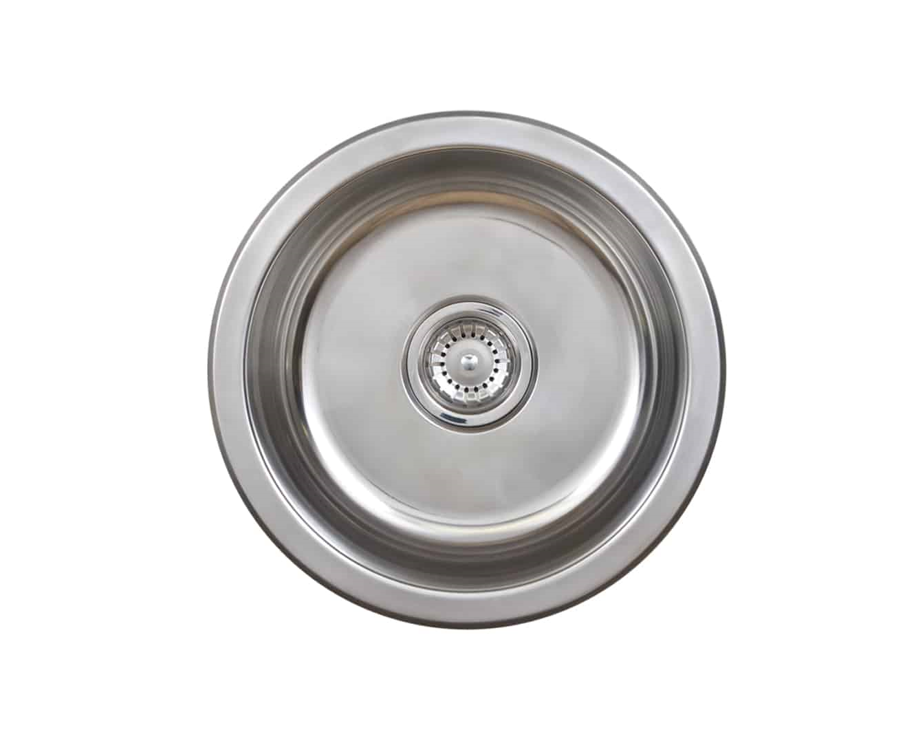Seima Kitchen Laundry Sink Single Round Bowl Above Mount 304 Stainless Steel ACERO SKS-003