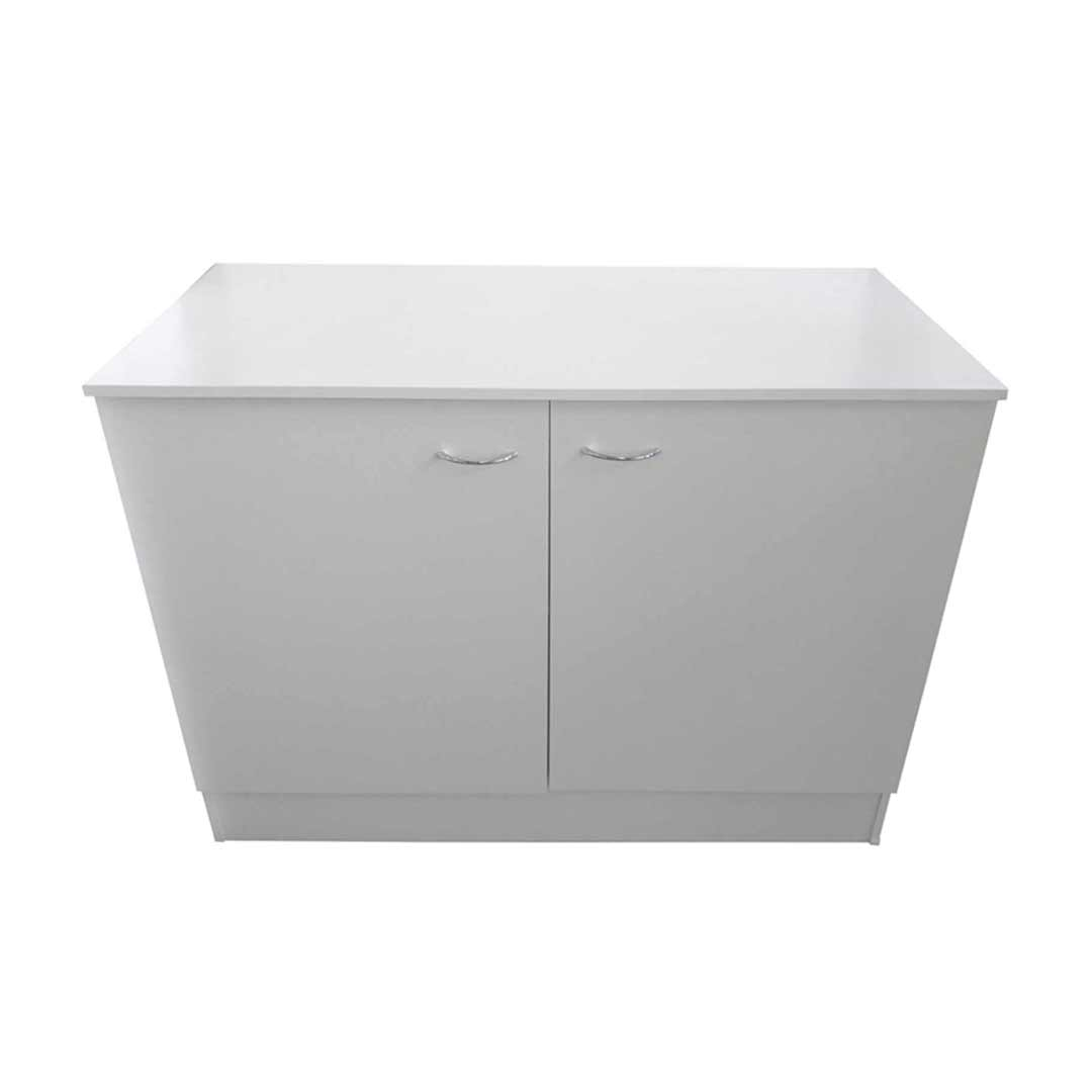 Seytim Builders Laundry Kitchen Cabinet White 1000mm wide