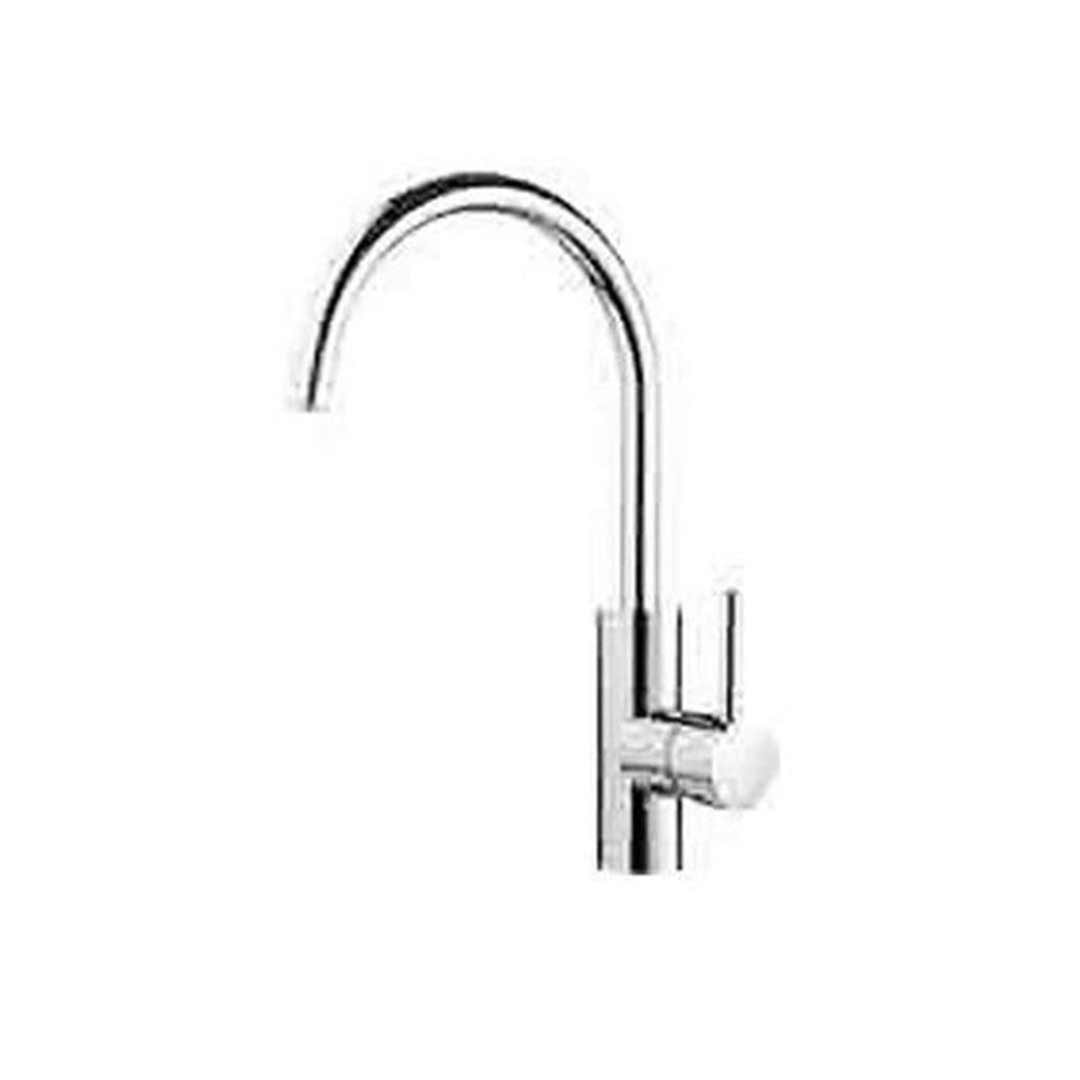 Methven Sink Mixer Gooseneck Kitchen Tap Chrome Flexispray Medea 06-5332