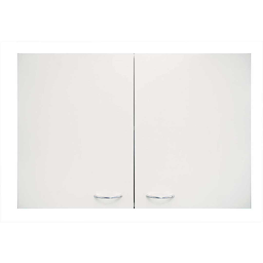 Overhead Laundry Cupboard Kitchen CABINET Stoarge Unit White 900mm Wide Seytim