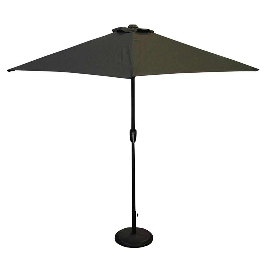 Sol Umbra Tilt Outdoor Umbrella 2700mm Black