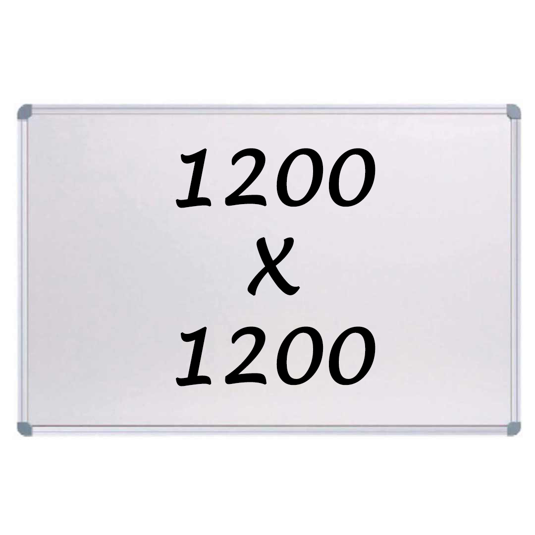 Whiteboards Direct Magnetic Whiteboard 1200 X 1200mm Writing Board Commercial 10y Warranty