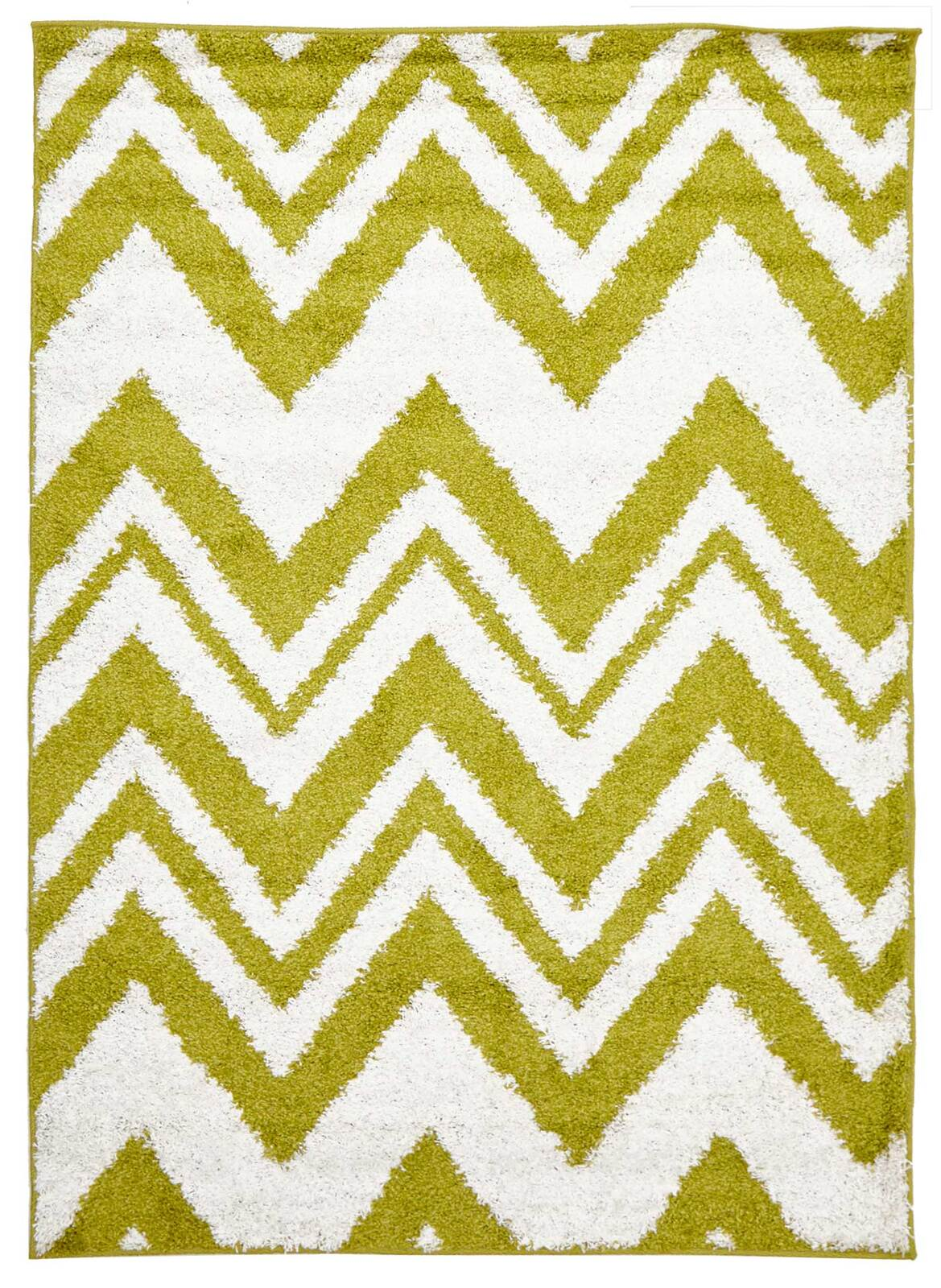 Rug Culture Chevy Shag Flooring Rugs Area Carpet Lime 330x240cm
