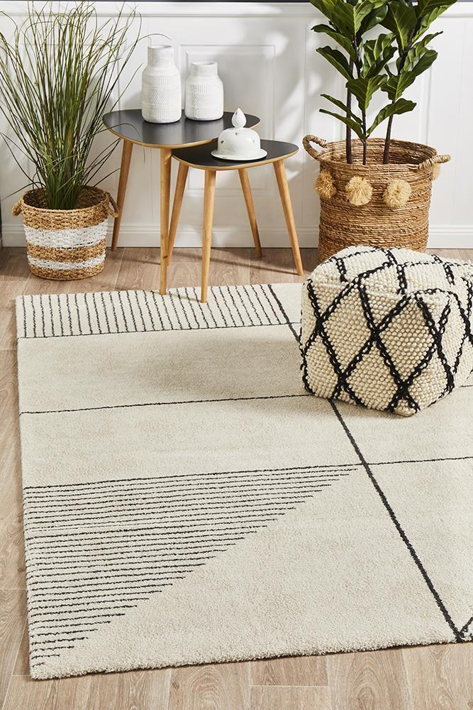 Rug Culture Broadway Florence Modern Ivory Floor Area Rugs BRD-935-IVO-290X200cm