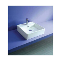 ECT Global Above Counter Basin Bathroom Ceramic Vanity White Mayfair WB 4032