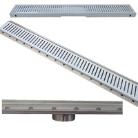 Bella Vista Shower Grate 600mm Stainless Steel SG-600-MT