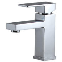 Brasshards Basin Mixer Bathroom Tap Kubus Chrome 11SL160CL