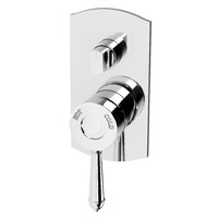 Phoenix Tapware Shower Wall Mixer Diverter Bathroom Tap Chrome Nostalgia NS791 CHR