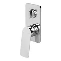 Phoenix Tapware Diverter Mixer Shower Bath Bathroom Mekko Chrome 115-7910-00