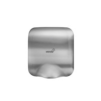 Verde Solutions Automatic Hand Dryer Brushed Stainless Steel Mighty AK2801-S