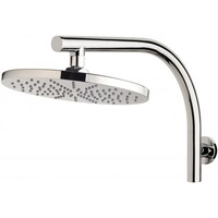 Phoenix Tapware Hi-Rise Shower Arm and 230mm Round Rose Vivid V533