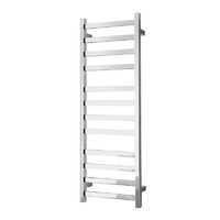 Alexander Heated Towel Rail Rack Square 12 BAR Bathroom Clothes Ladder Warmer Rails Elan 120S ELA-8A12