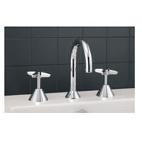 Mildon Bathroom Basin Tap Set Chrome Aspen