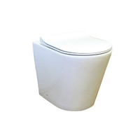 Best BM Toilet Suite Wall Faced Pan T1003D