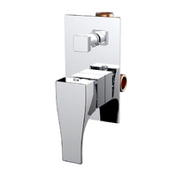 Best BM Shower Wall Mixer with Diverter Chrome Hino BTH3206