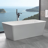 Best BM Bath Tub Bathroom Bathtub 1500mm White Turin BTT1500