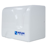 Metlam Hand Dryer Automatic Operation ABS-Plastic Wall Mount ML_1800_WHT