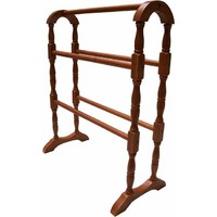 Akubra Wooden Towel Rack 5 Rail Stand 770mm High Bathroom Ladder