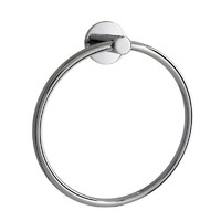 Pacific Broadway Hand Towel Ring Chrome