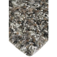Bayliss Rugs Balance Light Grey Hand Woven Wool/Poly Floor Area Rug 160cm x 230cm