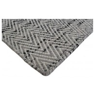 Bayliss Rugs Brazil Smooth Grey Hand Woven Wool 200cm x 300cm