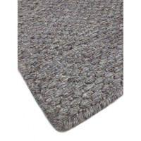 Bayliss Rugs Coast Cape Grey Wool/ Bamboo Silk Floor Area Rug 160cm x 230cm