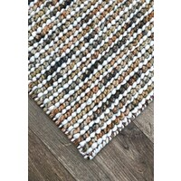 Bayliss Rugs Barossa Hand Woven Wool Floor Area Rug 160cm x 230cm Fall Brown