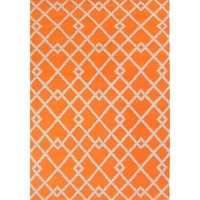 Bayliss Rugs Evolve Orange Hand Woven Wool 250cm x 300cm