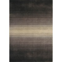 Bayliss Rugs Feathers Willie Wag Tail Black Wool 250cm x 350cm