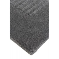 Bayliss Rugs Groove Charcoal Hand Knotted Wool 160cm x 230cm