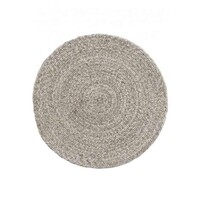 Bayliss Rugs Nordic Driftwood Wool & Viscose Floor Area Rug Round 200cm x 200cm