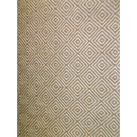 Bayliss Rugs Herman Diamond Camel Ivory Hand Woven Wool Floor Area Rug 160cm x 230cm
