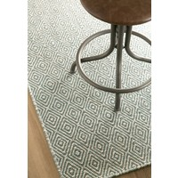 Bayliss Rugs Herman Diamond Rain Forest Grey Wool 250cm x 300cm