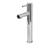 Castano Milan Round Pin Lever High Rise Basin Mixer Chrome MITOBAC