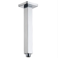 Castano Elba Square 150mm Ceiling Shower Arm Chrome ELCA150