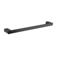 Castano Elba 810mm Single Towel Rail Holder Black ELSTR-B