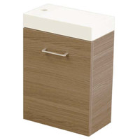 Castano Bathroom Vanity 400 Verona Ensuite Oak Timberstone VEREN400KROAK