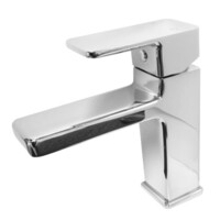 Castano Basin Mixer Chrome Bathroom Tap Urbino URBAC