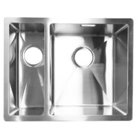Castano Kitchen Sink 1 1/2 Bowl Undermount Sink 304 Stainless Stell Inizio SSINIZIO