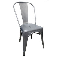 Tolix Xavier Pauchard Replica Dining Chair Galvanised Look