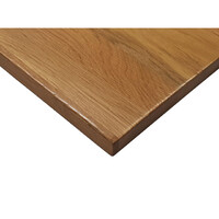 Solid Timber Table Top Restaurant Indoor Square 700mm x 700mm American Oak