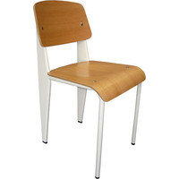 Prouve Jean Replica Standard Dining Chair White Oak