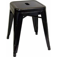 Tolix Xavier Pauchard Replica Metal Stool 460mm Black