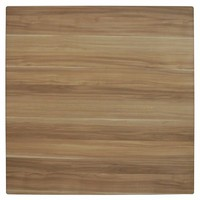 Table Top Square Outdoor 800mm Cafe Antiscratch UV Flat Edge Blackbutt