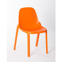 Broom Replica Philippe Starck Dining Chair Outdoor Orange