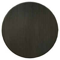 Isotop Outdoor Table Top Round 700mm Dark Oak