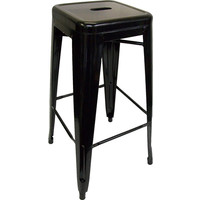 Tolix Xavier Pauchard Replica Metal Stool 750mm Black